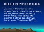 being in the world with robots1