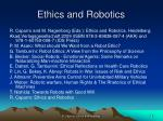 ethics and robotics