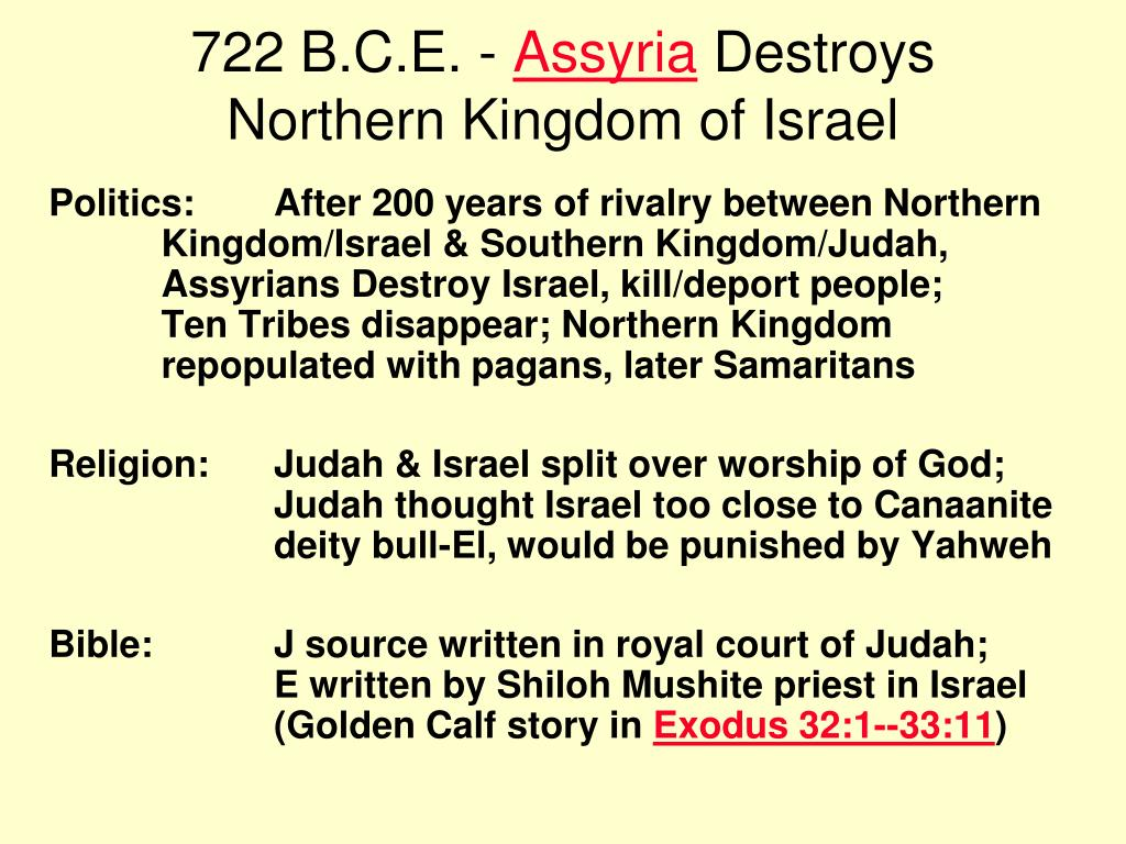 PPT - The Bible and History PowerPoint Presentation - ID:1196536