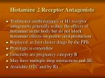histamine 2 receptor antagonists1