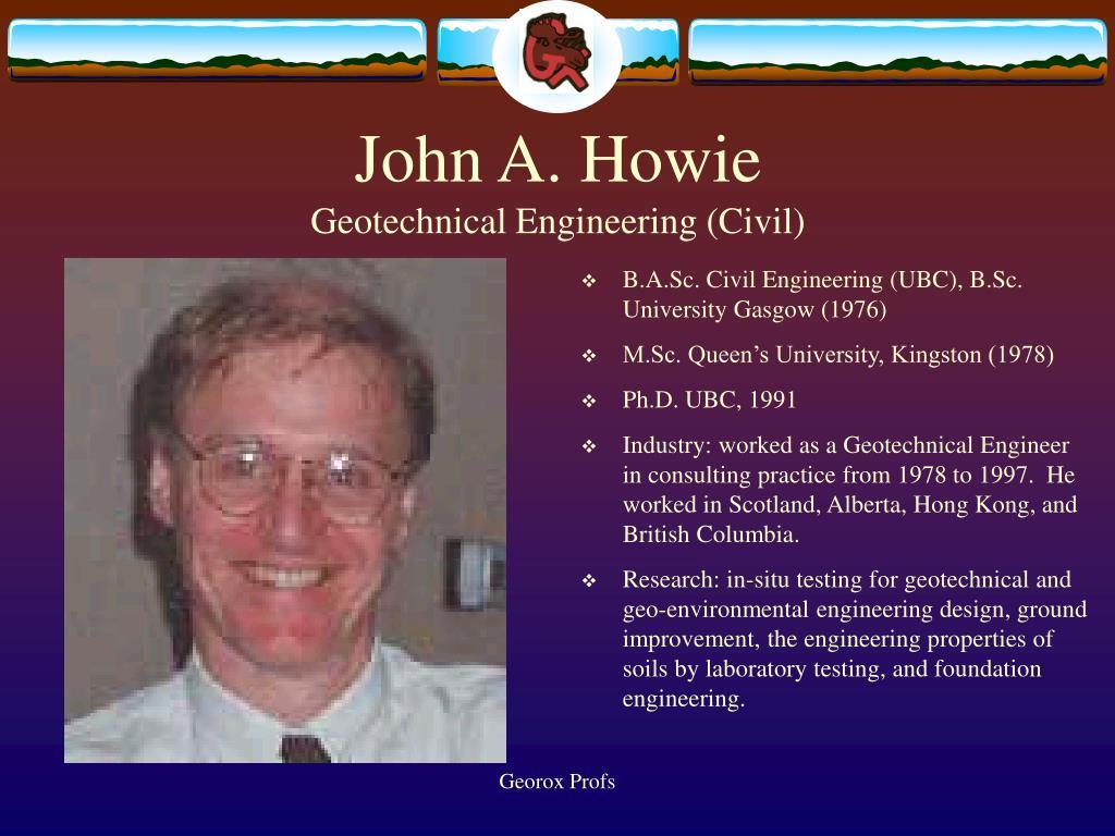 John A. Howie