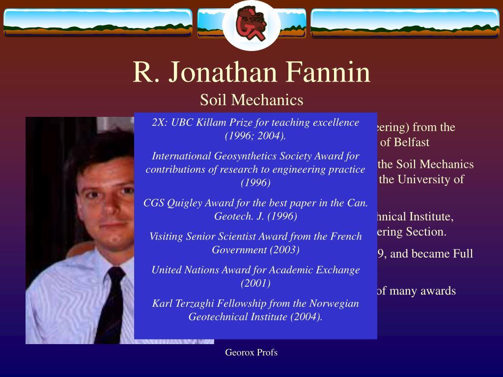 R. Jonathan Fannin