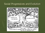 social progressives and evolution