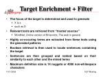target enrichment filter