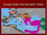 europe under the germanic tribes