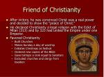 friend of christianity