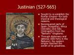 justinian 527 565