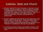justinian state and church
