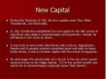 new capital