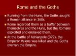 rome and the goths