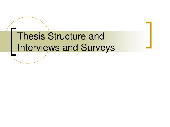 thesis chapter two Table 2 thesis or research project chapter outline the davenport university master of science in nursing program master thesis and.
