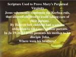 scripture used to prove mary s perpetual virginity1