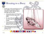 mooring to a buoy1