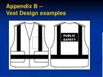 appendix b vest design examples2