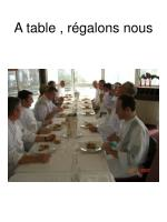 a table r galons nous