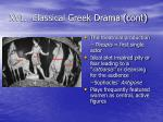 xvi classical greek drama cont