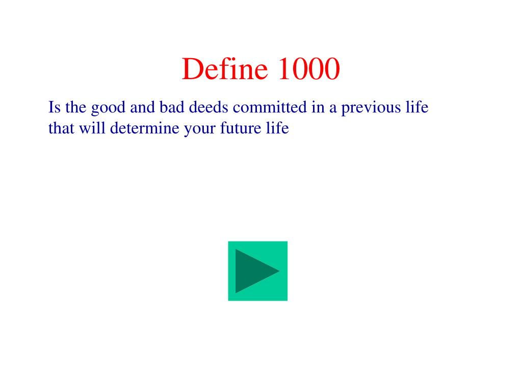 Define 1000