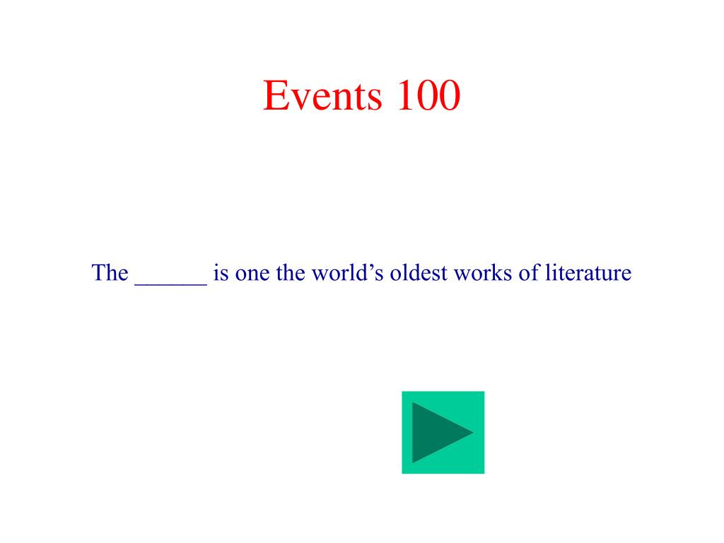 Events 100