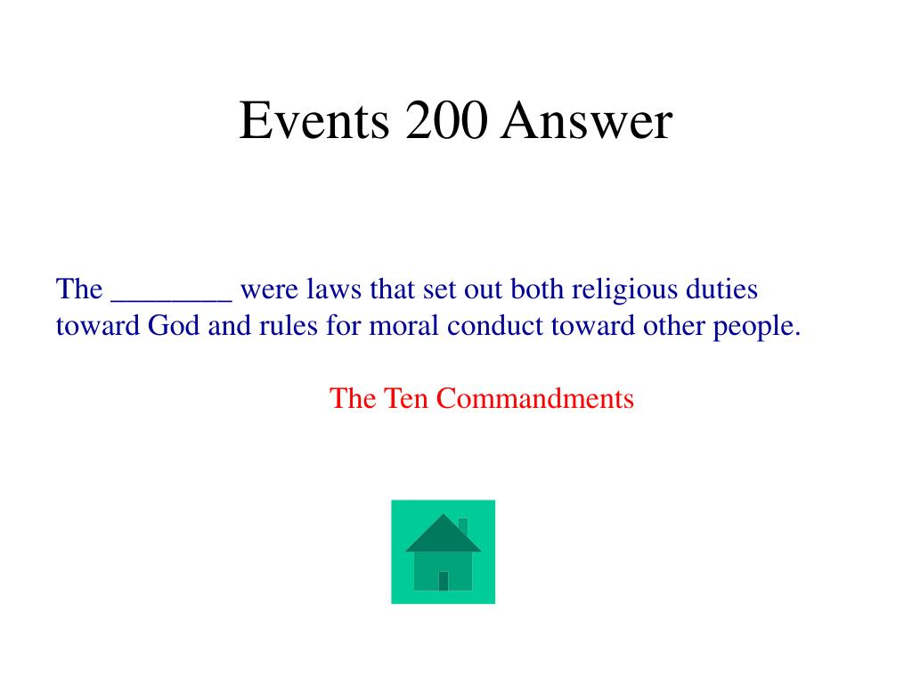 Events 200 Answer