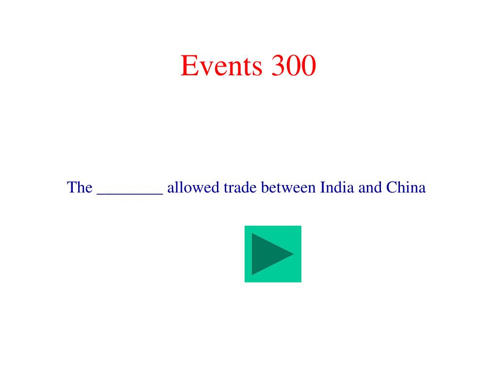 Events 300
