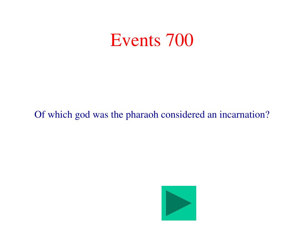 Events 700