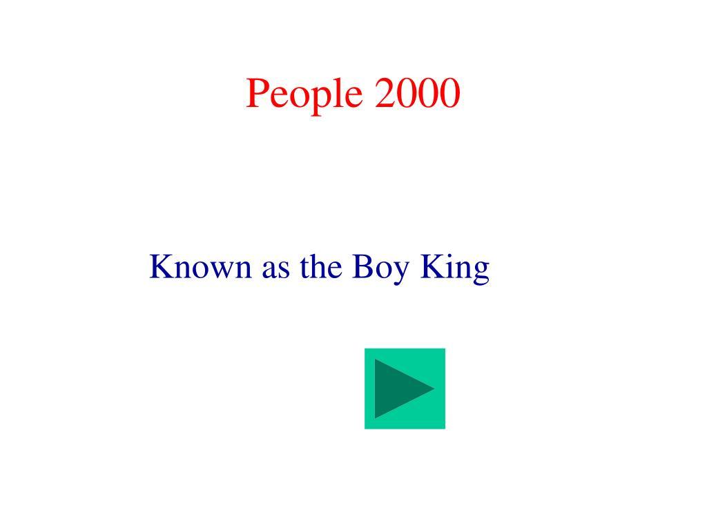People 2000