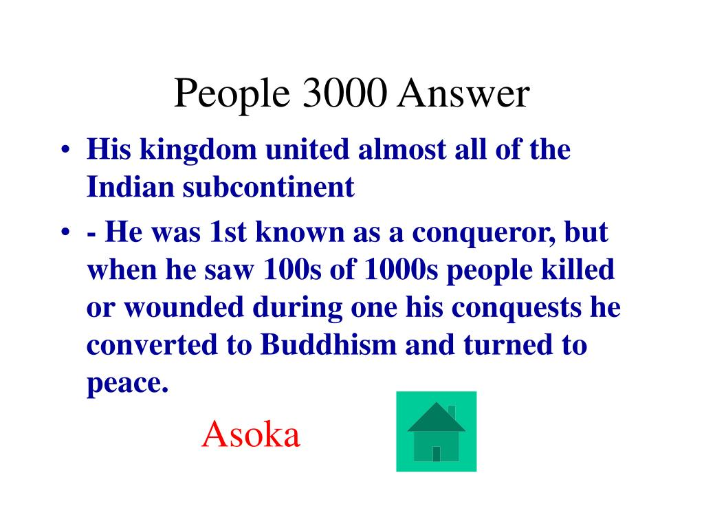 People 3000 Answer
