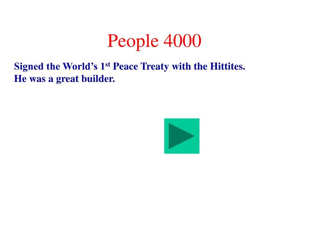 People 4000