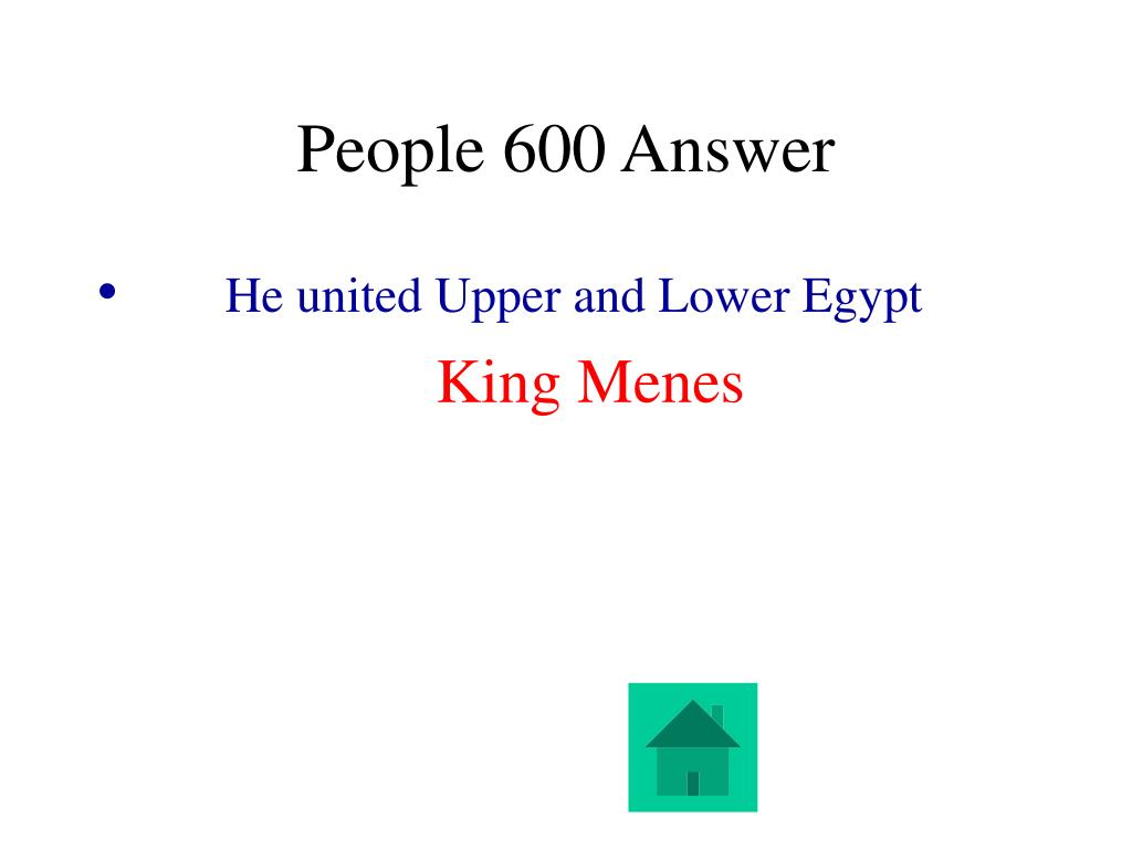 People 600 Answer
