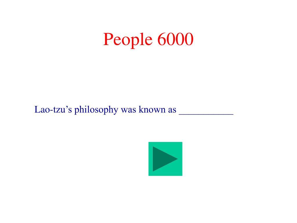 People 6000