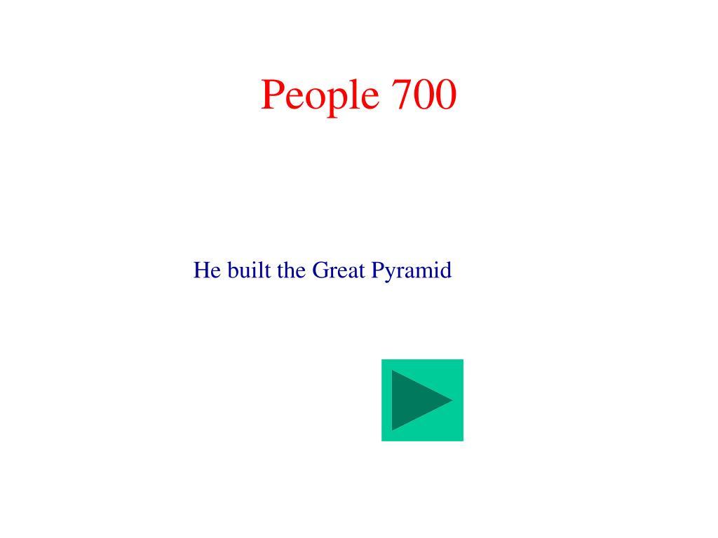 People 700