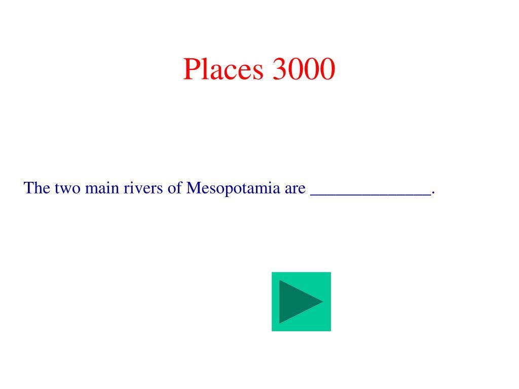 Places 3000