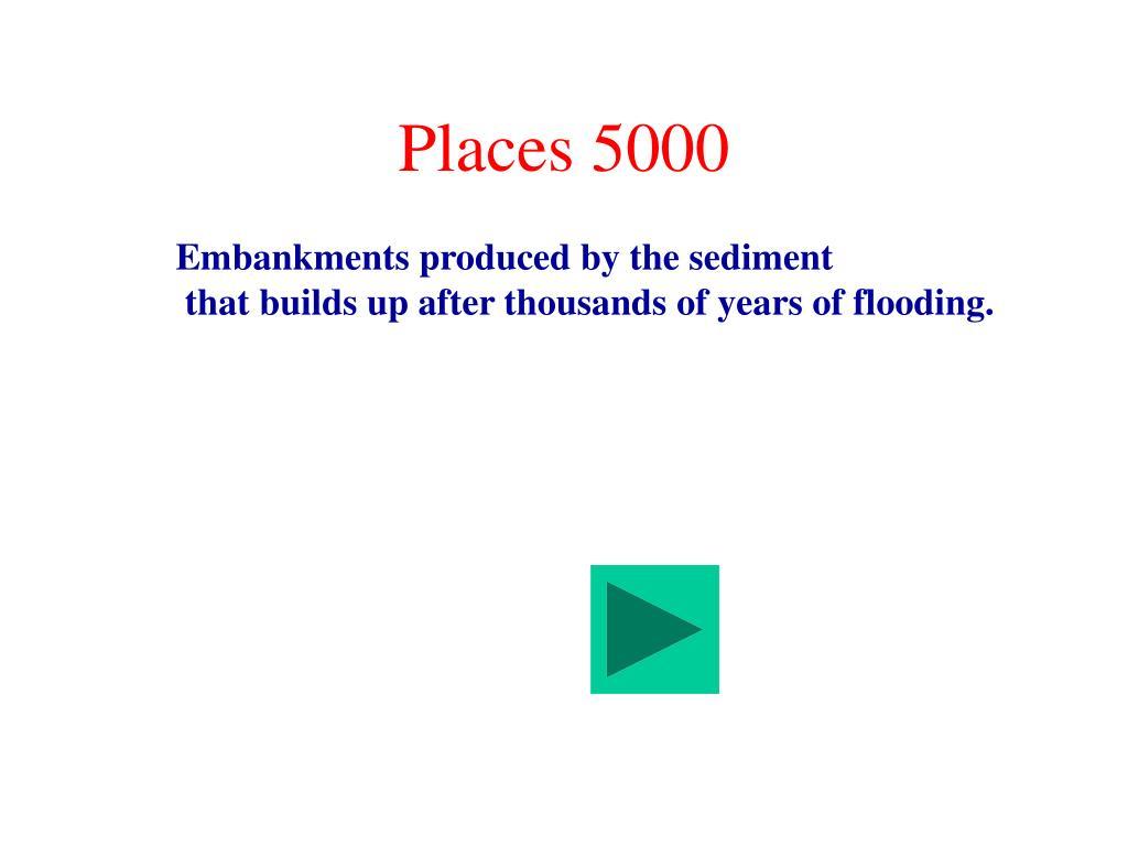Places 5000