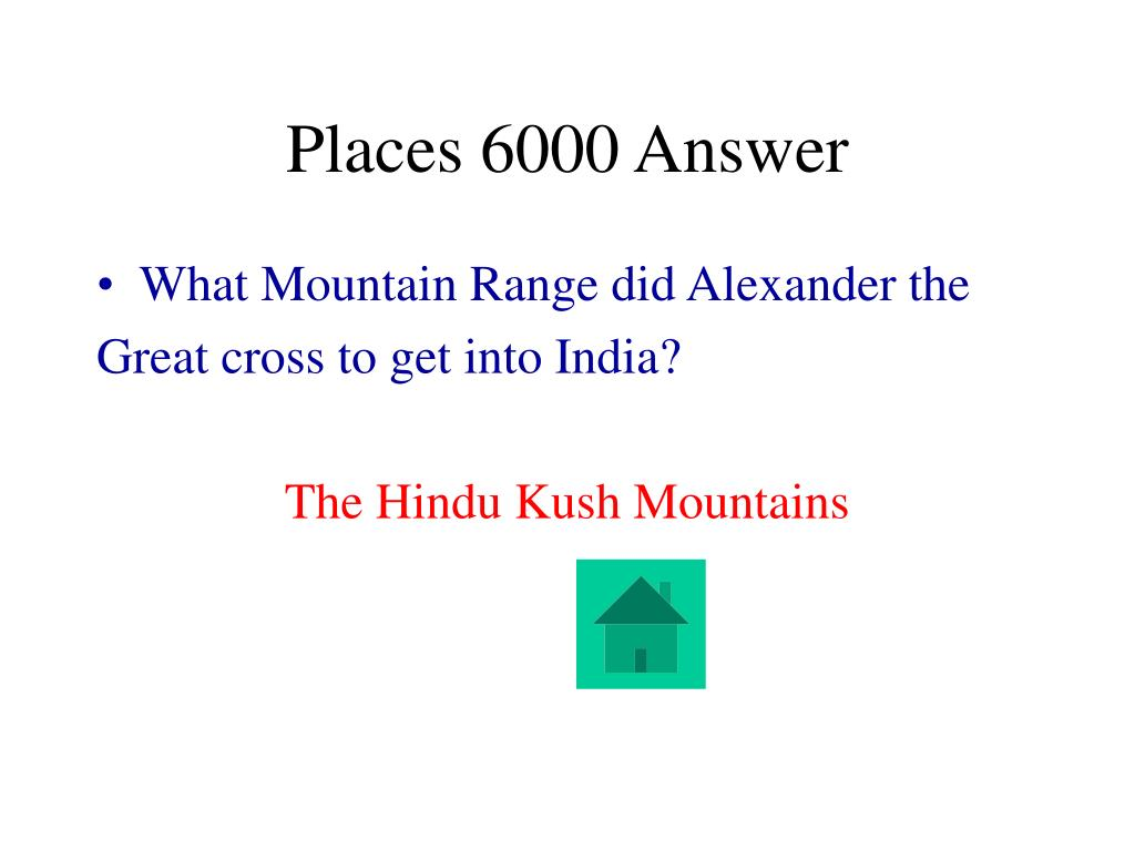Places 6000 Answer