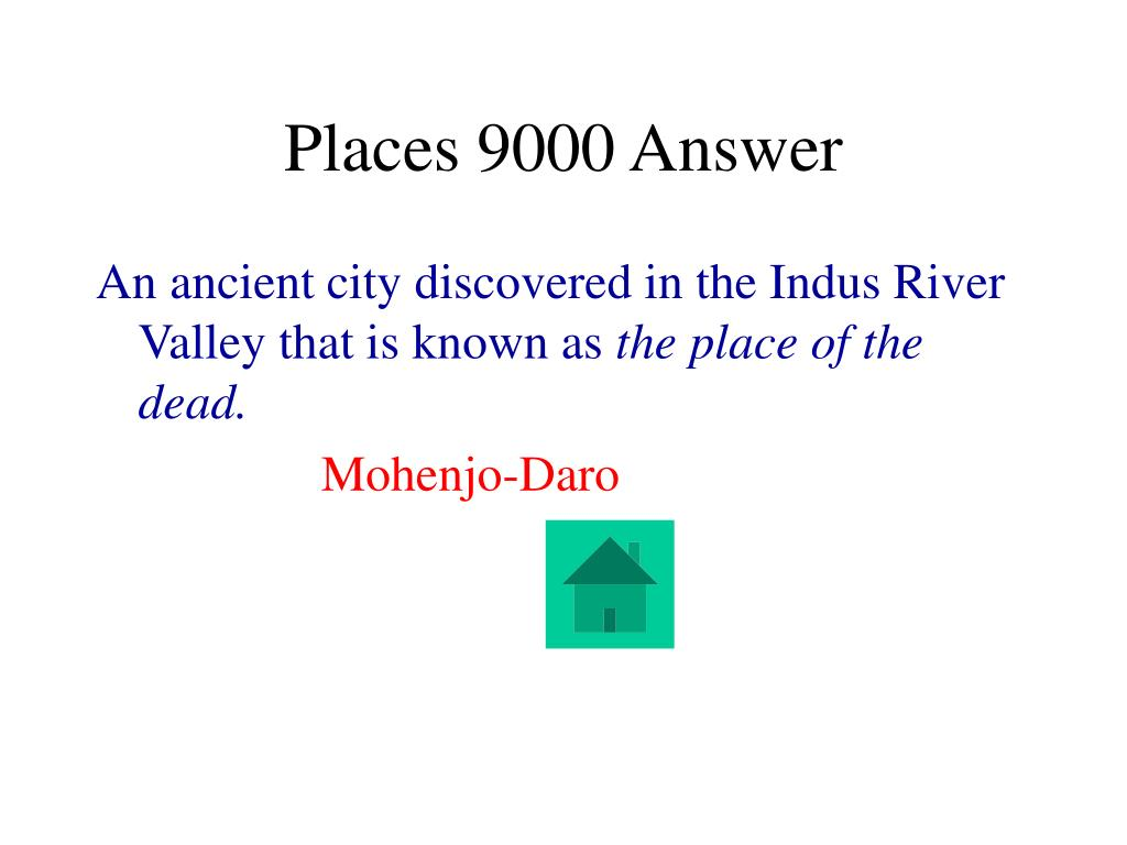 Places 9000 Answer