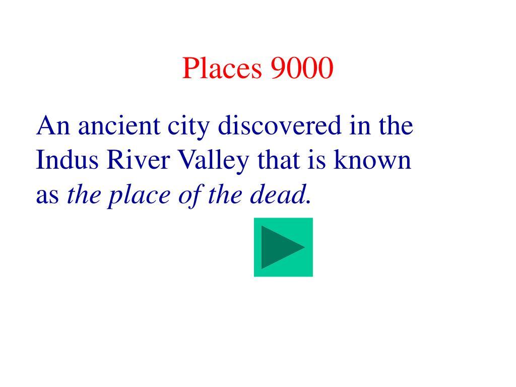 Places 9000