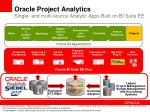 oracle project analytics single and multi source analytic apps built on bi suite ee