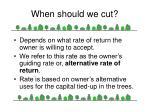 when should we cut