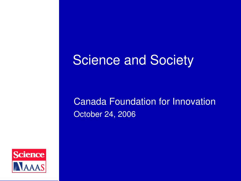 science and society l.