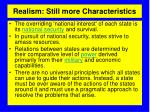 realism still more characteristics