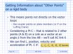 getting information about other points on a rigid body