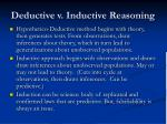 deductive v inductive reasoning