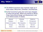 why wida