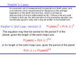kepler s laws49