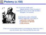 ptolemy c 150