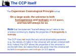 the ccp itself