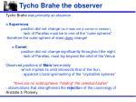 tycho brahe the observer