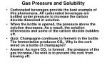 gas pressure and solubility1