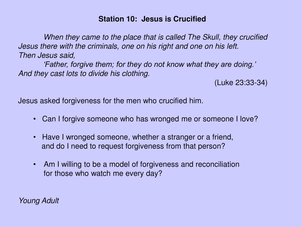 Station 10:  Jesus is Crucified