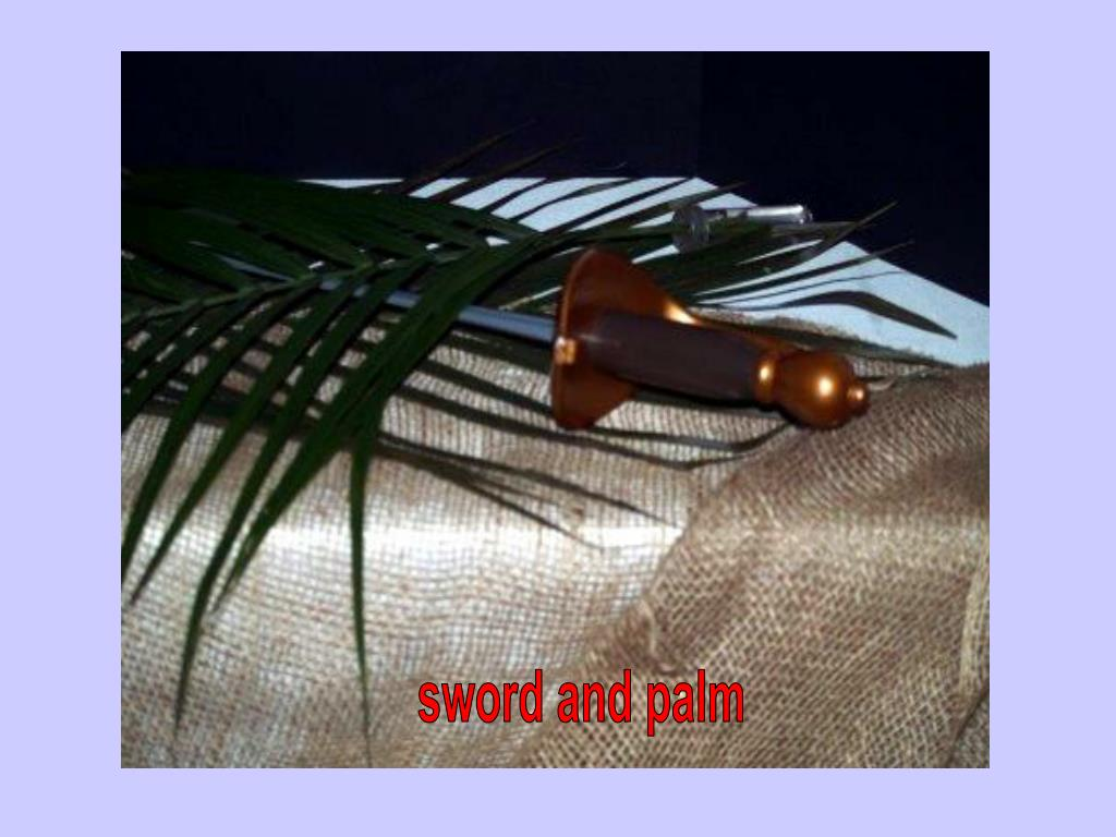sword and palm